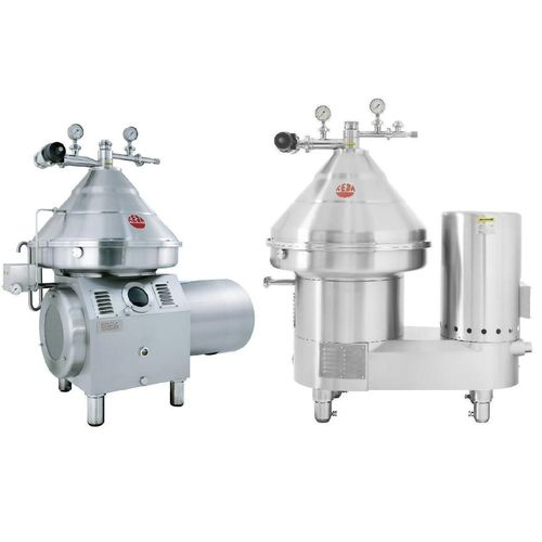 milk separator / centrifugal / whey / for the food industry