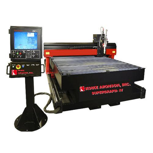 stainless steel cutting machine / plasma / CNC / compact