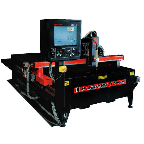 metal cutting machine / plasma / CNC / compact