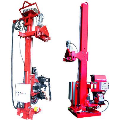 seam welding machine / AC / automatic / for storage tanks
