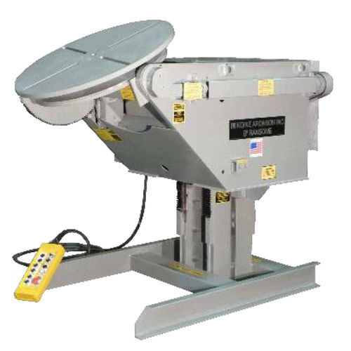 motorized welding positioner / rotary / 1-axis