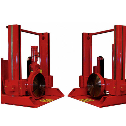 2-axis positioning system / rotary / for welding