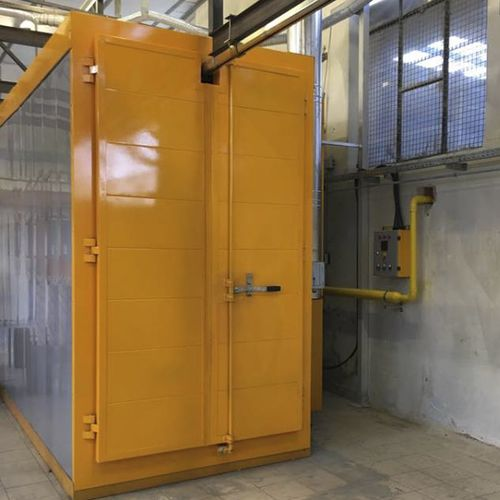 powder coating oven / chamber / tunnel / electric
