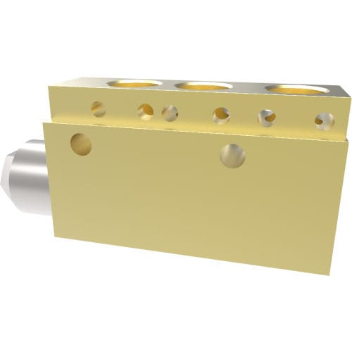 cartridge valve / hydraulic / for water / seat