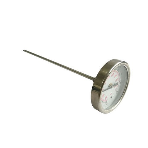 bimetallic thermometer / dial / pocket / screw-in