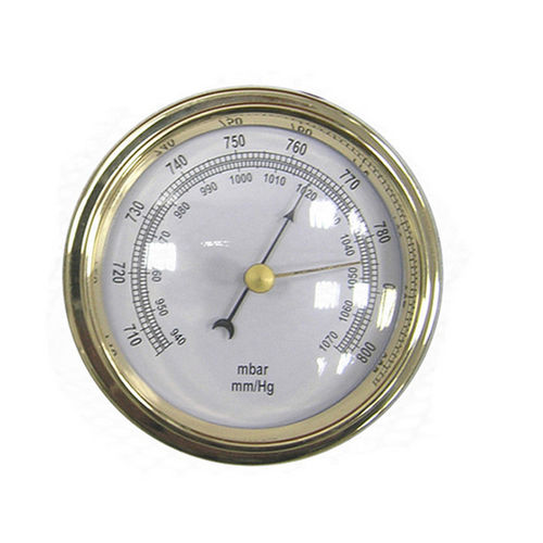 dial pressure gauge / diaphragm / for air / wall-mount
