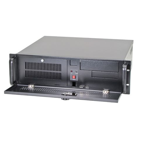 rack-mount chassis / 3U / industrial / rugged