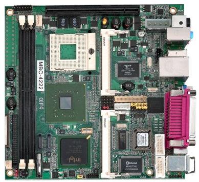 mini-ITX motherboard / Intel® Core™ 2 Duo / Intel 945G / DDR2 SDRAM