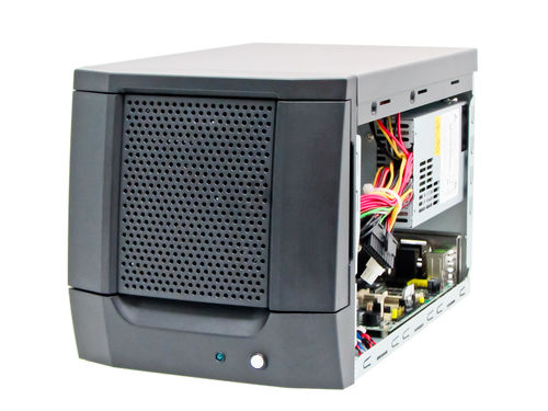 Compact chassis / wall-mounted / for mini-ITX motherboards / HDD mobile rack with Lock WMC-505M AICSYS Inc