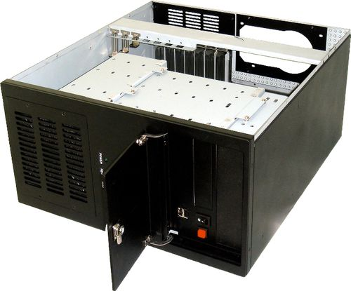 10 drive bays chassis / rack-mount / DVR / ATX motherboard