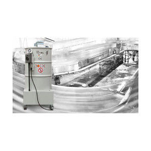 waste dust extractor / three-phase / industrial / mobile
