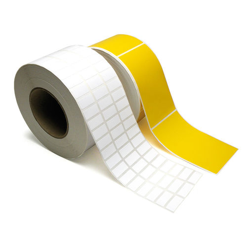 thermal transfer label / adhesive / polyester / PVC