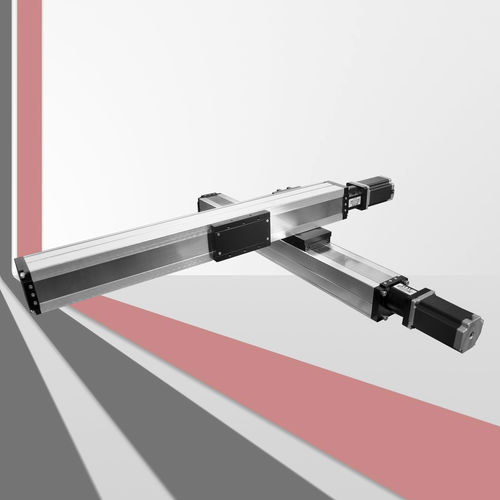 ball screw linear module / compact / guided / aluminum profile