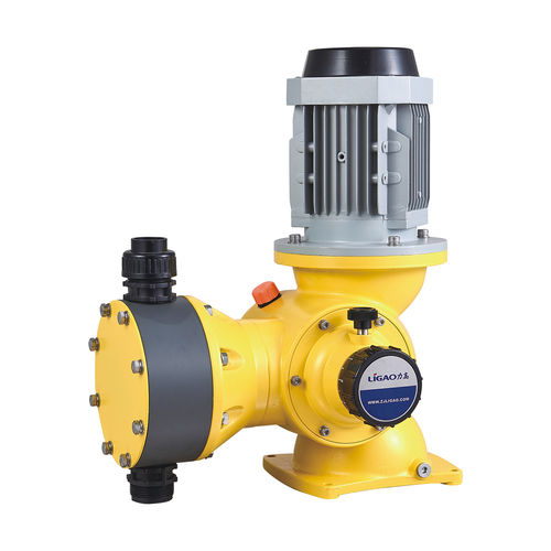 wastewater pump / for chemicals / with electric motor / diaphragm
