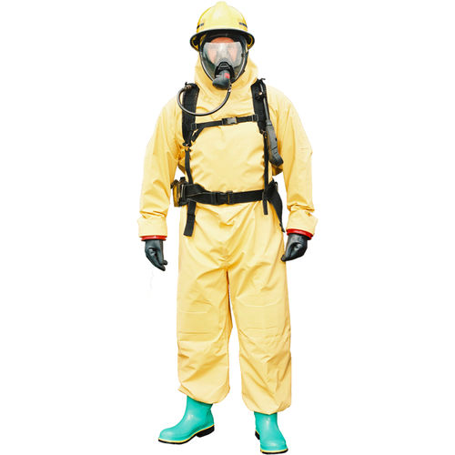 work coveralls / chemical protection / waterproof / neoprene