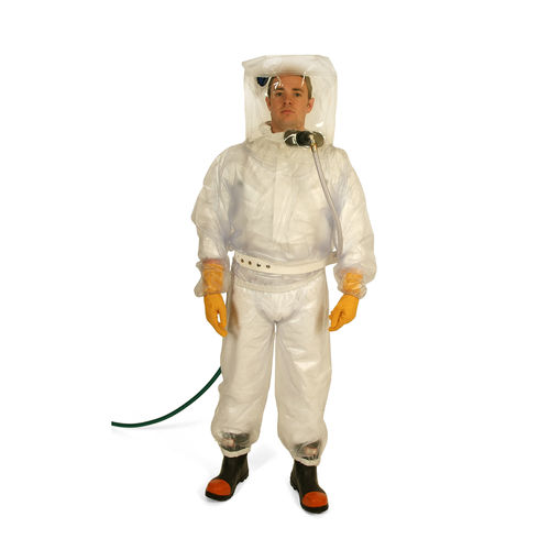 work coveralls / PVC / breathable / disposable