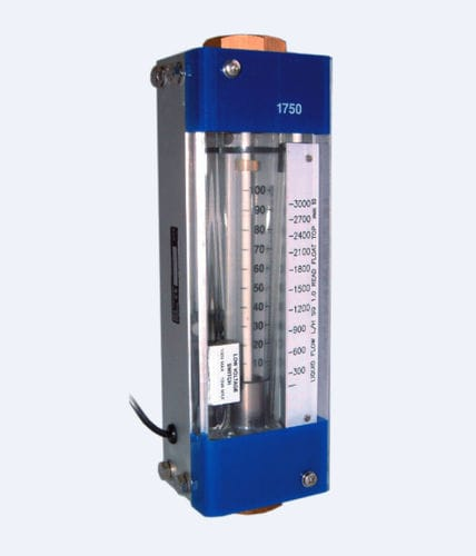variable-area flow meter / for liquids / for gas / direct-reading