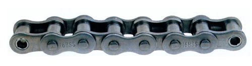 power transmission chain / metal / roller / agricultural