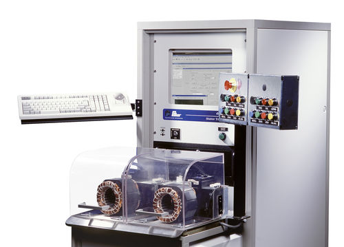 Multi-parameter test bench / for electric motor windings / automatic / mechanical AST8800-TATS RM Prüftechnik GmbH