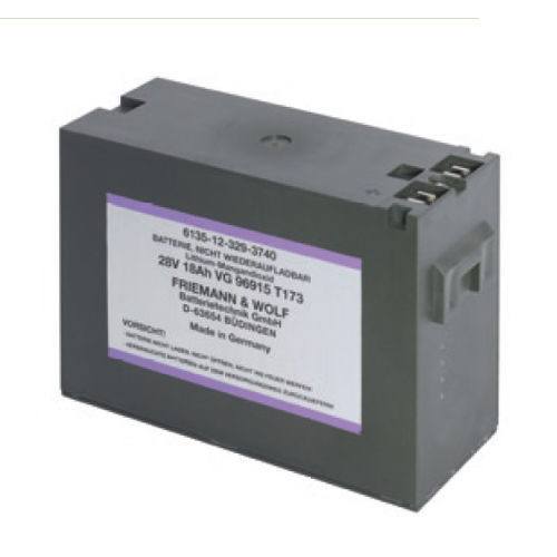 lithium-manganese dioxide battery / primary