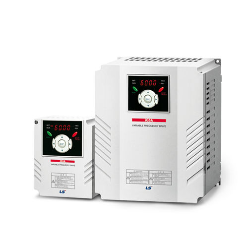 Vector control frequency inverter / three-phase / vertical / compact iG5A LS Industrial Systems