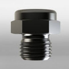 solid-stream spray nozzle / cleaning / cooling / stainless steel