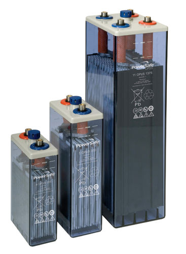 Lead-antimony battery / power / tubular 216 - 3 360 Ah | PowerSafe OPzS series EnerSys