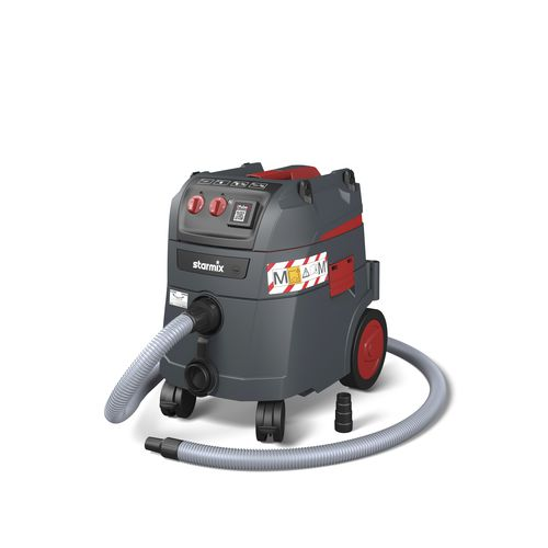 wet and dry vacuum cleaner / electric / for the construction industry / for the plastics industry