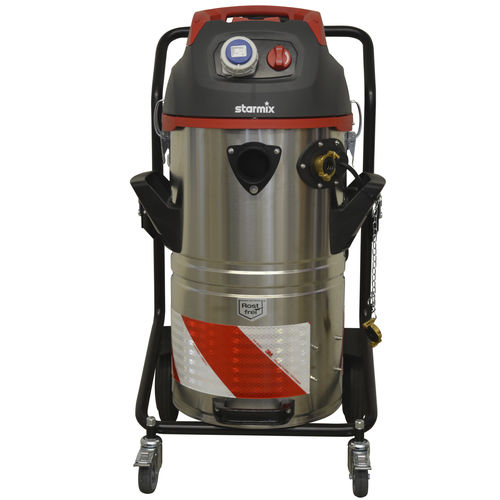 wet and dry vacuum cleaner / electric / industrial / mobile