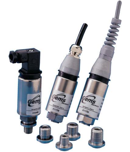 relative pressure transducer / analog / digital / immersed