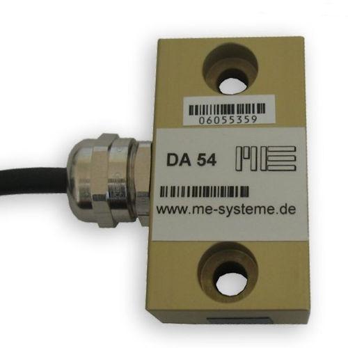 strain sensor for static applications / 2 screws