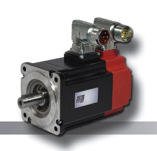 Brushless electric servo-motor / AC TETRA Motor Power Company