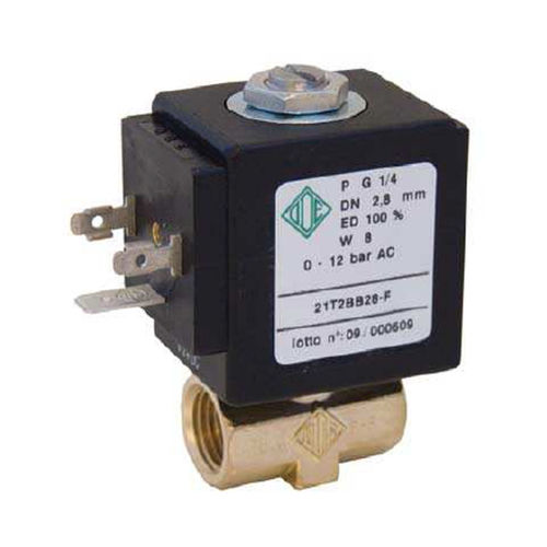 2/2 way direct acting solenoid valve DN 1.7 - 4, max. 30 bar | 21T1BVXX-F ODE