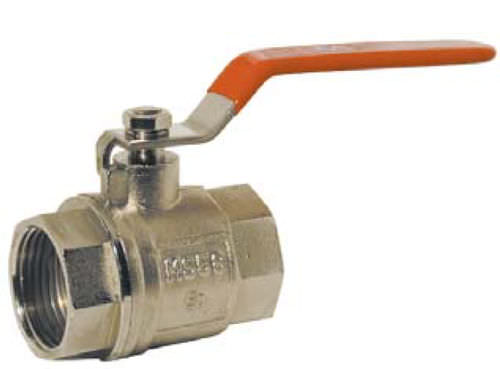 "2-way brass ball valve 1/4"" - 2 1/2"", PN 16 