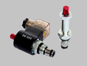 2-way solenoid valve SV-08-2.NC.P Ningbo Longteng Hydraulic Components Co.,Ltd.