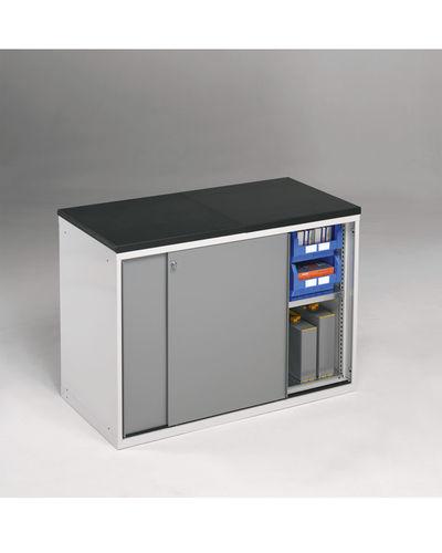 Storage cabinet / free-standing / sliding door / metal STANDARD FI-FG series FAMI S.R.L.