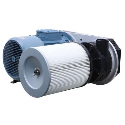compact turbo-blower / oil-free