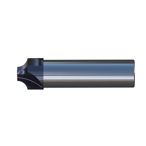 corner rounding milling cutter / corner radius / solid / roughing