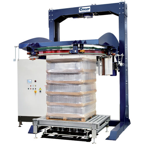 rotary ring stretch wrapper / fully automatic