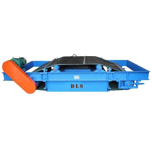 suspended separator / permanent magnet / belt / metal