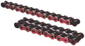 power transmission chain / chromed metal / roller
