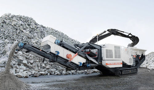 impact crusher / mobile / crawler