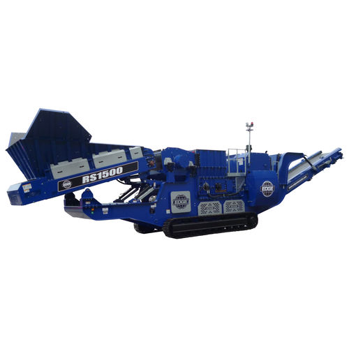double-roller crusher / mobile / crawler / secondary