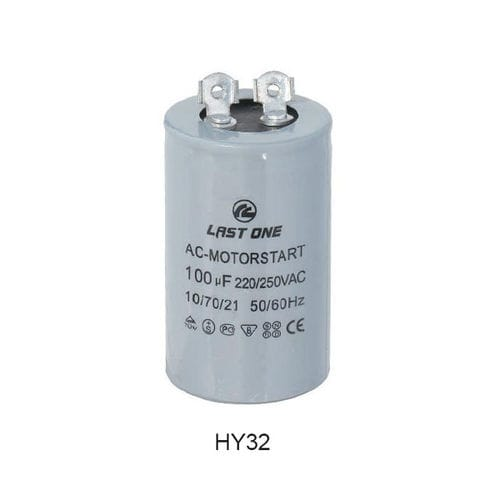electrolytic capacitor / cylindrical / discharge / AC