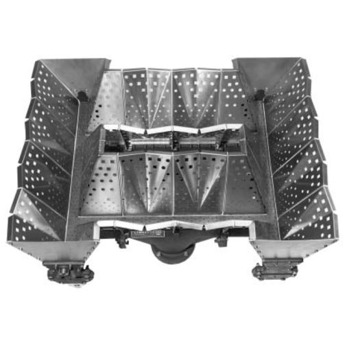 natural gas burner / linear array / low-NOx