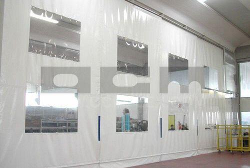 Workshop partition / removable / sliding OCM Industrial Doors