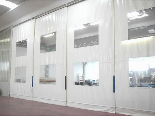 Removable partition OCM Industrial Doors