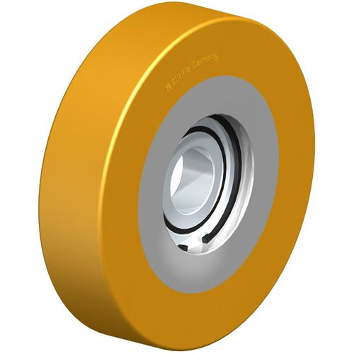 guide roller / steel / polyurethane / low-noise