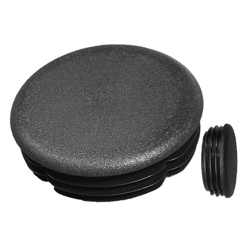 round plug / finned / male / low-density polyethylene (LDPE)