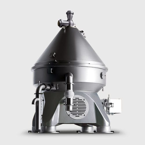 centrifugal separator / for solids / compact